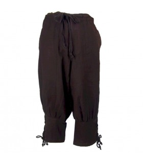 Viking trousers in brown wool