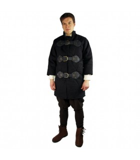 cordoned medieval gambeson