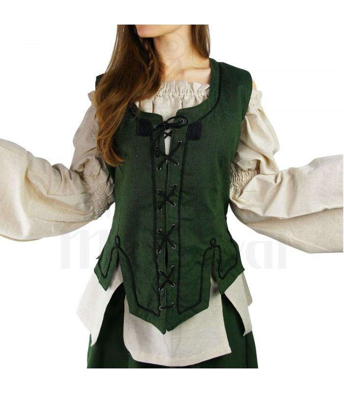 Medieval black woman vest