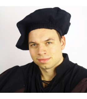 Renaissance velvet cap