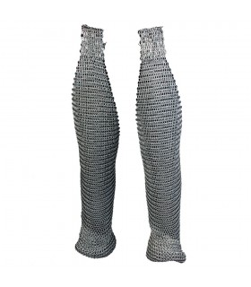 Legs medieval chainmail
