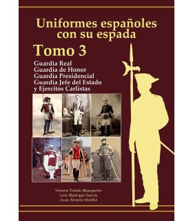 Spanish uniforms with his sword: Royal Guard