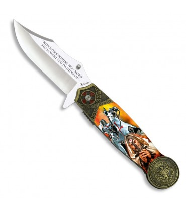 Templar knife with assisted opening