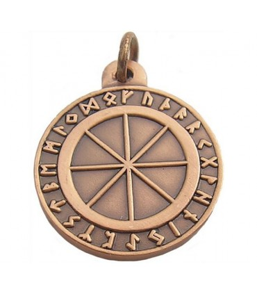 Celtic Pendant Runic Wheel