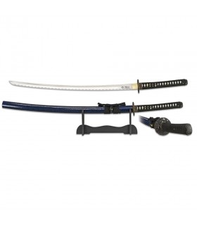 Katana blade carbon steel with a pedestal
