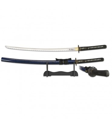 Katana carbon steel blade with base