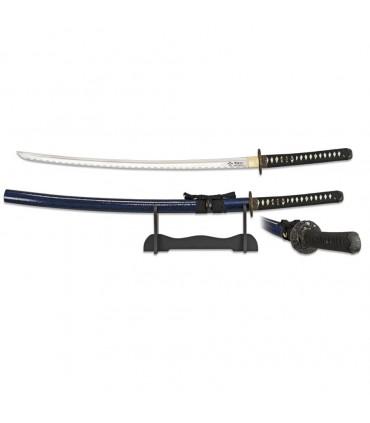 Katana carbon steel blade with base