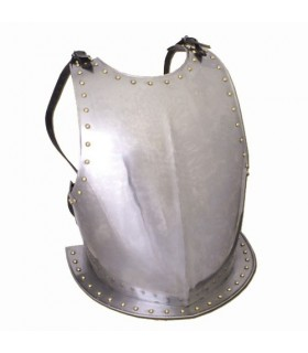 Peto medieval en acero, ajustable