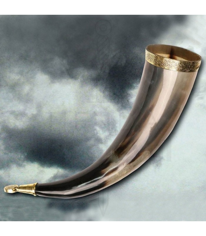 Viking Horn Without Hole, 38 Cms.. Horns