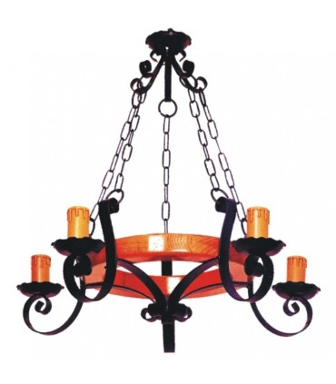 Chain forging lamp