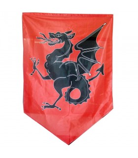 Estandarte medieval dragón (150x100 cms.)