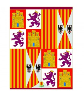 Standard Coat of Arms Catholic Monarchs