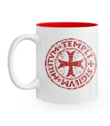 Ceramic Mug Cross-Seal Templar