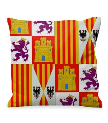 Medieval cushion Coat of arms Castilla y León