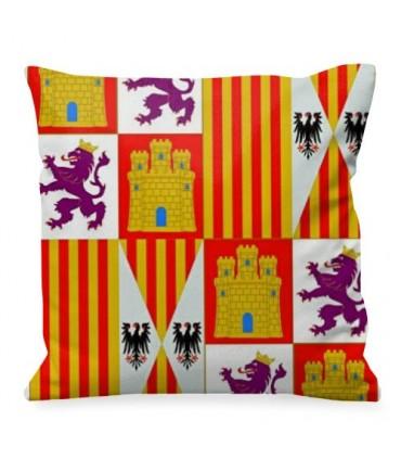 Medieval cushion Coat of arms Castilla y León