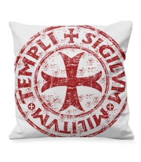 Medieval cushion Cross-Shield Templar