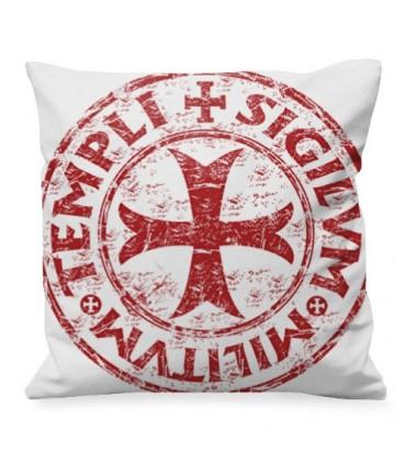 Medieval cushion Cross-Shield Templar