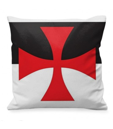 Medieval cushion Cross Templar Paté