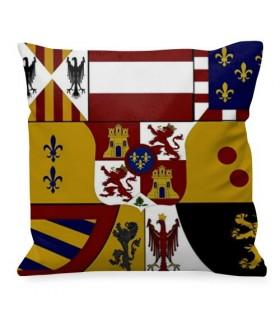 Cojín medieval Escudo de los Borbones