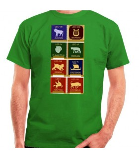 Roman Legions T-shirt, short sleeve