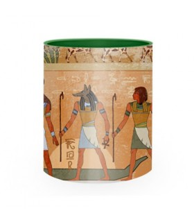 Ceramic Mug Pharaohs and Egyptian Gods