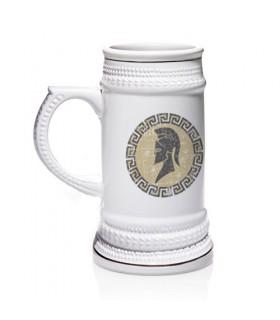 Jarra de cerveza Espartano Griego