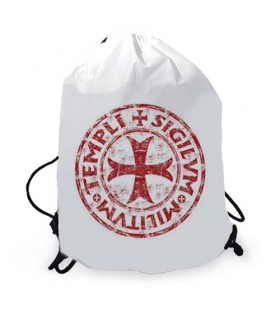 Knights Templar gymsack string backpack