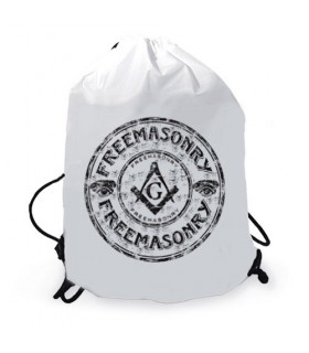 Masonic gymsack rope backpack