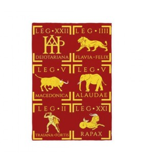 Roman Legions Banner, for interiors and exteriors (75x115 cms.)