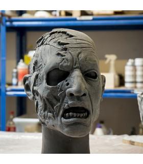 Mask Zombie Half Head (57-59 cm.)