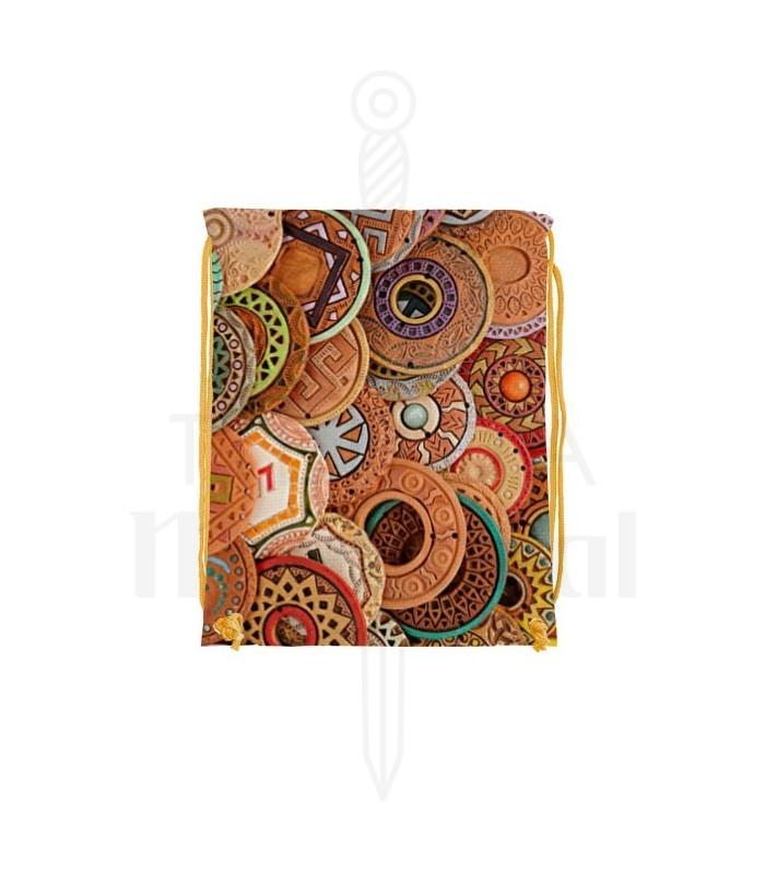 Backpack string Runas Celtas (34x42 cm.)
