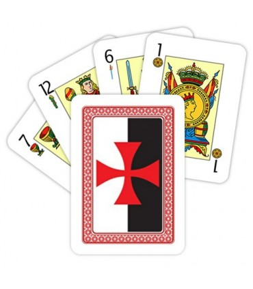 Deck of Cards Spanish of the Templars
