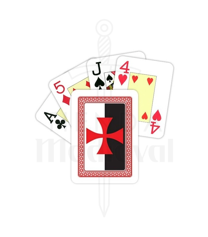 Deck of Cards French knights Templar