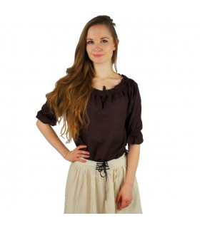 Blouse medieval women, 3 colors