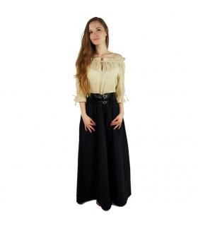 Blouse medieval women, 3 colors