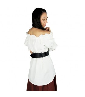Blouse medieval short sleeve