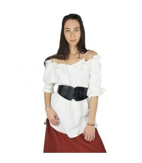 Blouse medieval short sleeve