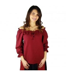 Blouse medieval long sleeve