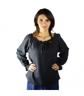 Blouse medieval long sleeve, 2 colors
