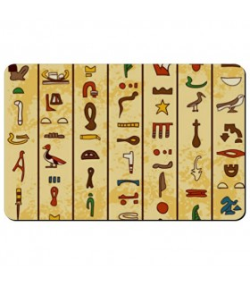 Flexible magnet rectangular Egyptian Hieroglyphics