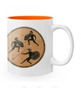 Cup Ceramic Warriors Spartans