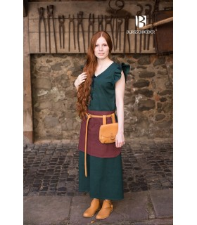 Dress Medieval Woman Agga-Green