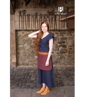 Dress Medieval Woman Agga-Blue