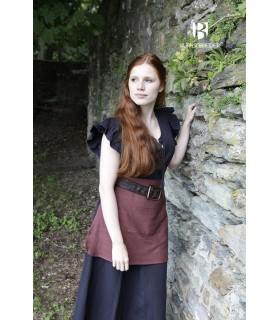 Dress Medieval Woman Agga Black