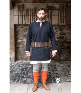 Tunic Medieval Erik black long sleeve