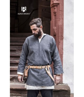 Tunic Medieval Erik gray long sleeve
