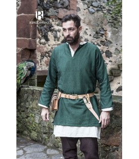 Tunic Medieval Erik green long sleeve