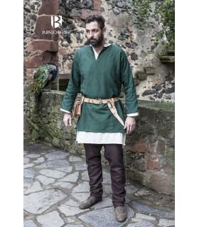 Tunic Medieval Erik green long sleeve