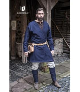 Tunic Medieval Loki blue long sleeve