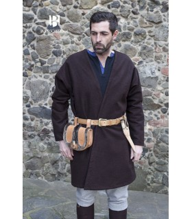 Tunic Medieval Loki brown long sleeve